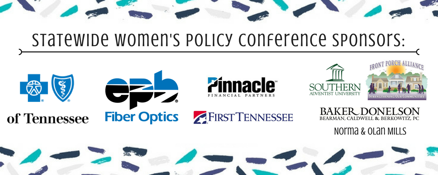 Statewide Women's Policy Conference Sponsors_